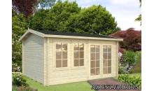 foto exterior caseta de madera iris de x cm