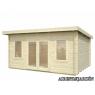 Caseta de madera Lisa 2 de 470 x 350 cm.