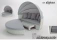 SET ALPINO Aluminio Rattan sintético - 1