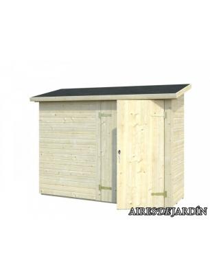 Armario de madera mia de 234x95 cm venta de armarios - Armarios de jardin ...