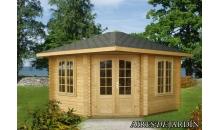 foto exterior Caseta de madera Melanie 2 de 350x350 cm.