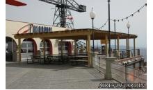 foto exterior Pergola de madera autoportante modelo Sabadell de 495x195 cm.