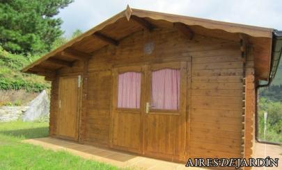 Resultado de instalaci n de la casita de madera luise en cantabria - La casita de madera ...