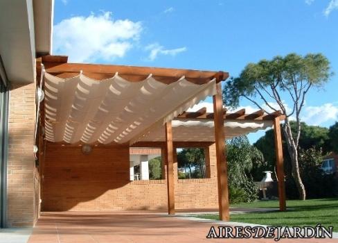motivos por los que poner una prgola de madera en tu jardn o terraza - Pergolas Madera