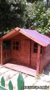 Casetas de madera para cumplir sueños