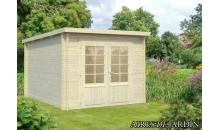 foto exterior Casita de madera Ella 1 de 260 x 320 cm.