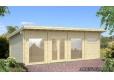 Foto Casa de madera Violet 840 x 320 cm