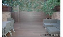 foto exterior TARIMA SINTETICA OTIUMDECK Naturale color Ipè de 2200x138x22 mm (m2)