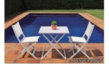 foto exterior Mesa y sillas ROSY Small (Plegable)