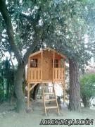 Casita de madera Toby resultado instalación en Dosrius (BARCELONA)