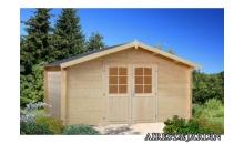 foto exterior Cabaña de madera Lotta 3 de 400x400 cm.