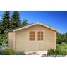 Cabaña de madera Lotta 3 de 400x400 cm.