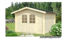 foto exterior Cabaña de madera Lotta  2  de 295x400 cm.