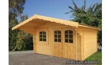 foto exterior caseta de madera sally x cm