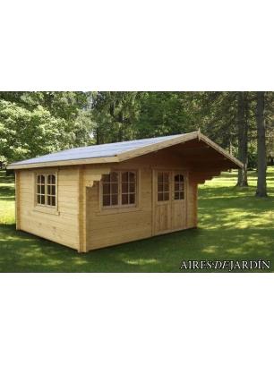 Caseta de madera helena 2 precio minimo oferta casetas for Oferta caseta jardin