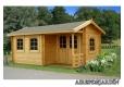 Foto 1 casa de madera con porche Susanna 1 Palmako antigua Susanna