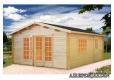 Foto 1 caseta de madera Irene 2 Palmako para exterior antigua Irene 1