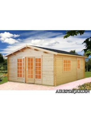 Caseta de madera irene 2 directo de f brica casetas de for Casetas exterior baratas