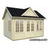 Caseta de madera Claudia 2 de 420x320 cm.