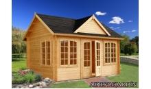 foto exterior Caseta de madera Claudia 3 de 550 x 400 cm.