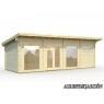 Casa de madera Heidi 2 de 840 x 320 cm