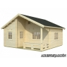 Casa de madera Emily 4 de 590x570 cm.