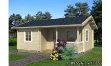 foto exterior Casa de madera Sandra 1 de 620x470 cm.
