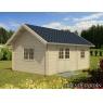 Casa de madera Sandra 3 de  605x410 cm.