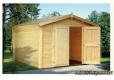garaje de madera Roger 1 Palmako antigua cabaña de madera Tours