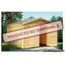 Garaje de madera Roger 1 de  296x380 cm.
