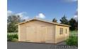Garaje de madera Roger 4 de 450x550 cm.
