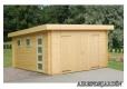 Foto 1 garaje de madera Rasmus antiguo Garage de madera Novel