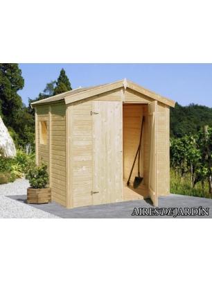 Cobertizo de madera dan 1 precio m nimo comprar for Cobertizo exterior