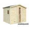 Cobertizo de madera Dan 1 de  243x190 cm.