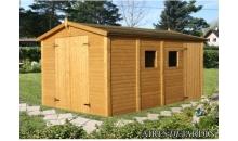 foto exterior Cobertizo de madera Dan 3 de 273x370 cm.