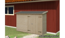foto exterior Armario de madera Leif 1 de 234x95 cm.