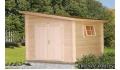 Cabaña de madera Leif 3 de 296x296 cm.