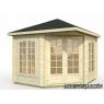 Caseta de madera Melanie 2 de 350x350 cm.