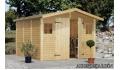 Cobertizo de madera Dan 2 de  273x280 cm.