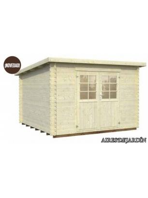 Casita de madera mary 3 al mejor precio oferta casitas for Precio casita de madera para jardin