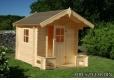 Foto 1 casita de madera infantil Sam para exterior