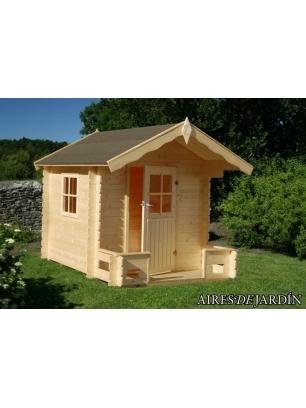 Casita infantil sam 180x180 240 cm casitas infantiles for Casetas de jardin economicas