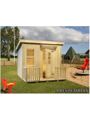 Casita infantil harry de 199x163 cm casitas infantiles for Tela asfaltica para tejados de madera